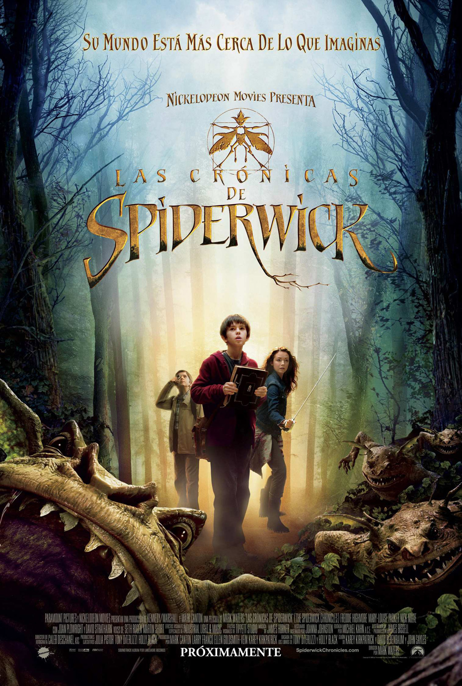 Las cr�nicas de Spiderwick