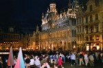 La Grand Place, al centre de Brusel·les, una de les places més espectaculars que he vist!
