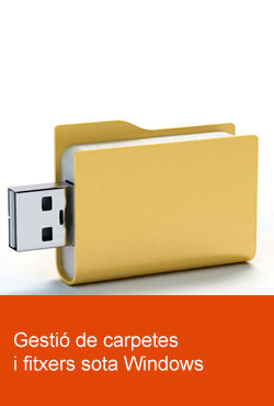 Gesti� de carpetes i fitxers sota Windows